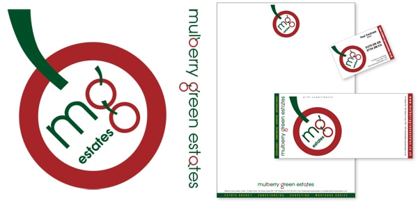 Corporate Stationery for Mulberry Green Estates