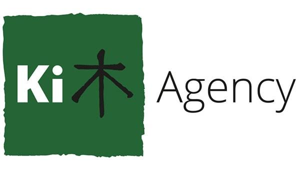 Ki Agency landscape logo design
