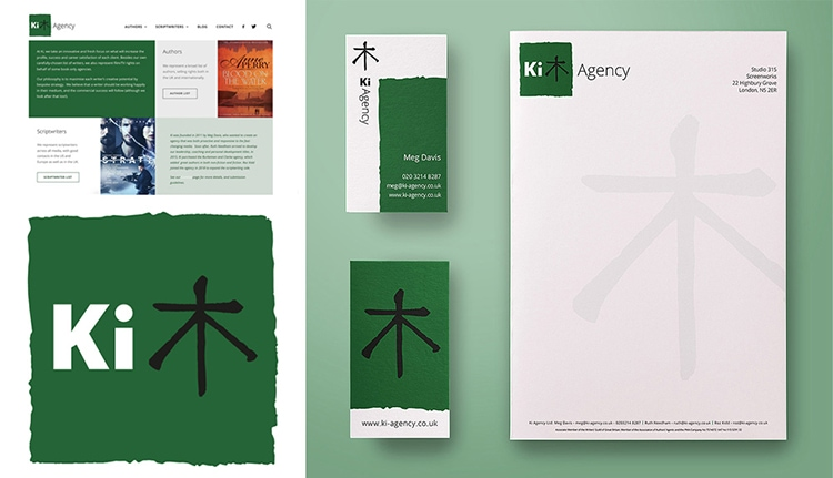 Business Stationery Set for Ki Agency