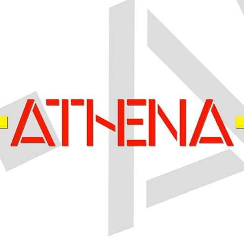 Athena logo design thumbnail