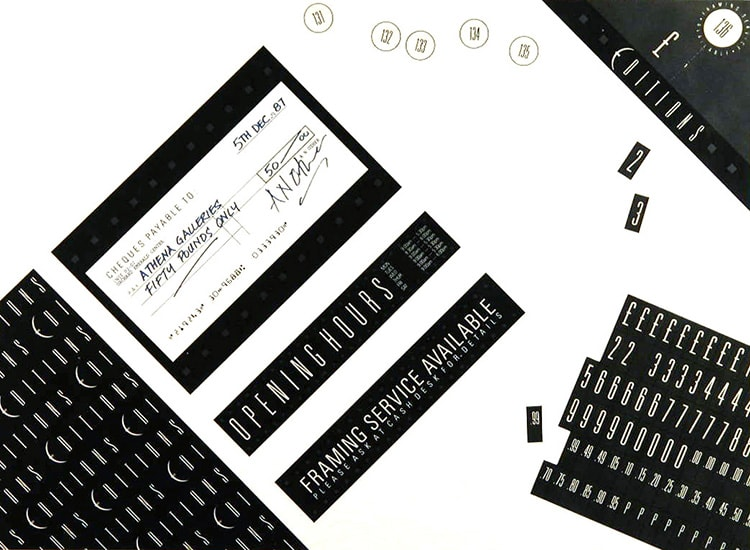Athena POS ticketing design for Athena Retail stores