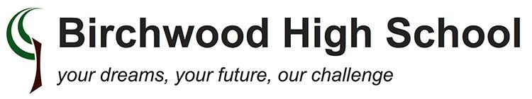 Old Birchwood High School logo design