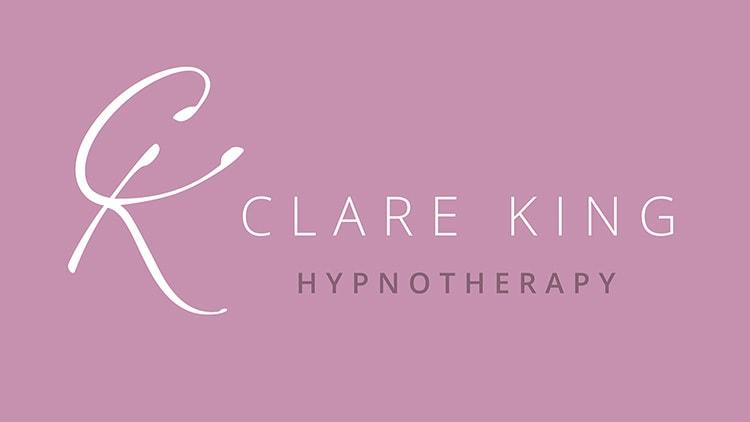 Reversed Clare King Branding design landscape logo
