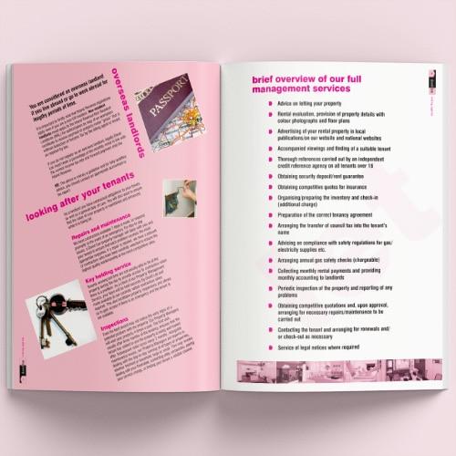 Brochure spread for David Lee Estates Brochure Thumbnail