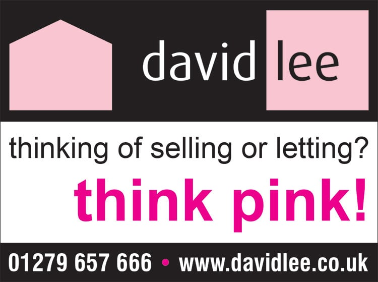 Press advertisement design for David Lee Estates