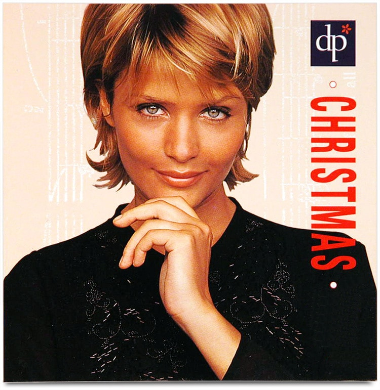 Front cover design of Christmas promotion leaflet for Dorothy Perkins
