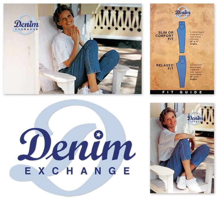 Print design materials for Denim Exchange department of Dorothy Perkins