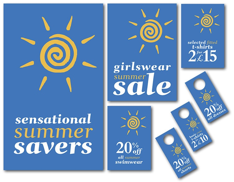 Dorothy Perkins Promotion Design for the Sensational Summer Savers