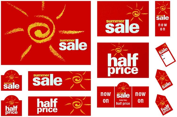 Dorothy Perkins Summer sale promotion design