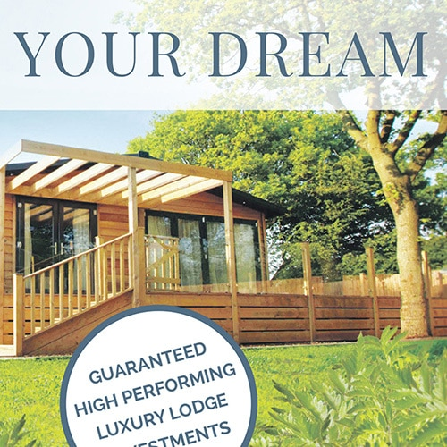 Dream Lodge Loyalty press advertising design for the Daily Telegraph Thumbnail