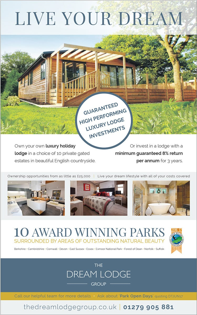 New Flyer advertising design for Dream Lodge Loyalty