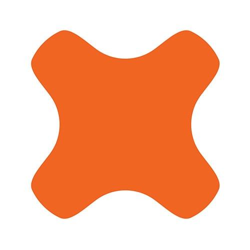 GEO orange symbol design