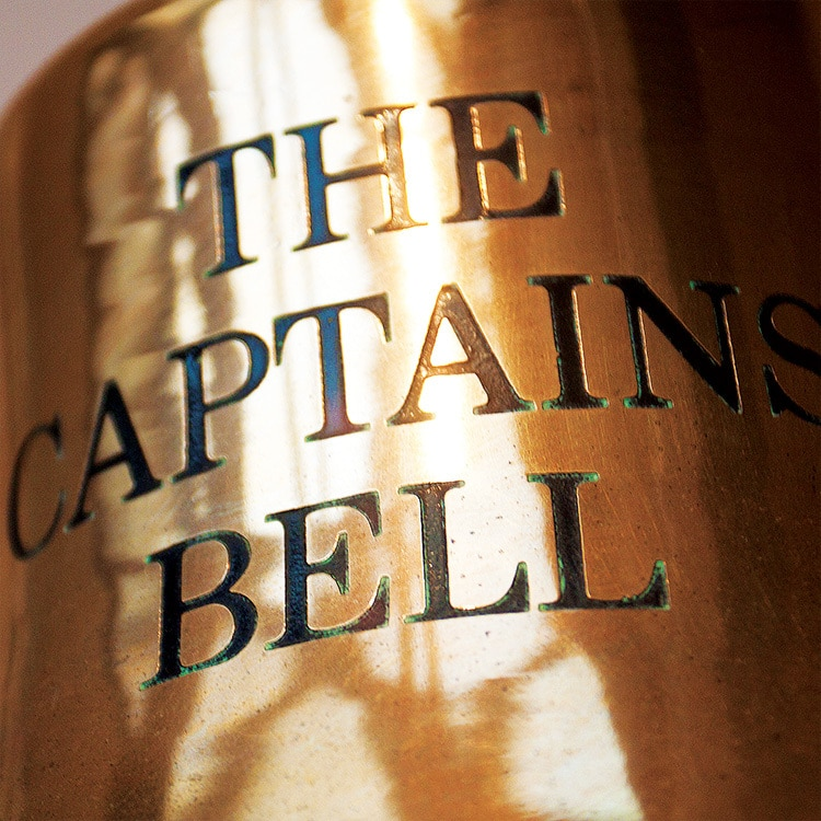 Close up of The Captains Bell photography for Great Hadham Country Club