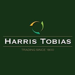 Harris Tobias branding design with green background Thumbnail