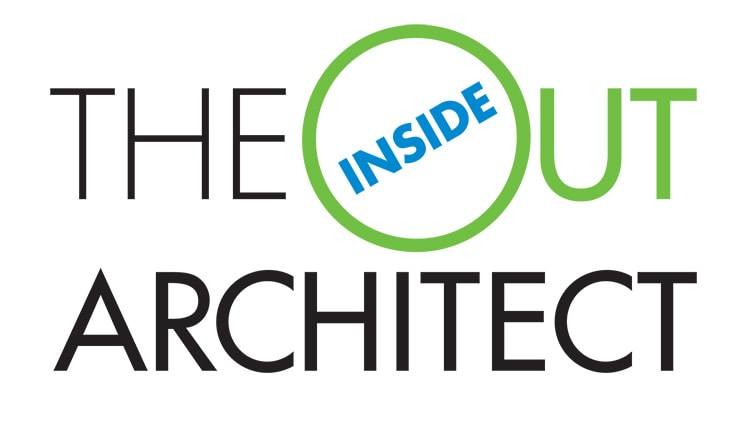 Inside Out Architect Branding Design stacked format