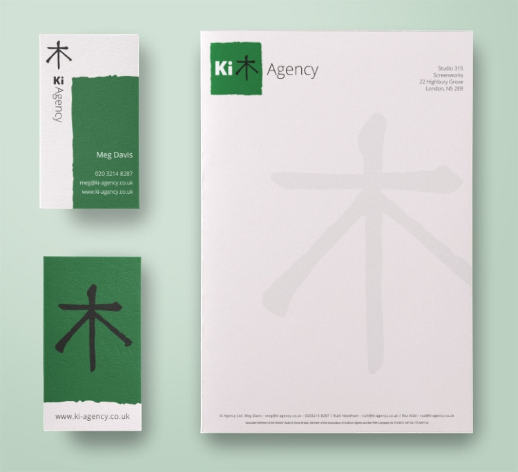 Corporate Stationery for Ki Agency