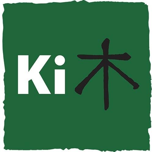 Ki Agency symbol with rough paint brush effect branding design Thumbnail