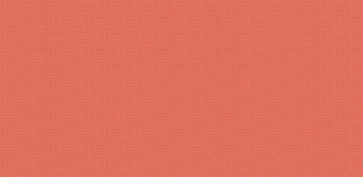 Repeat pattern of LDN Grill branding orange background for LDN Voucher