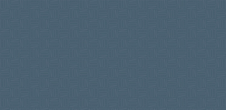 Repeat pattern of LDN Grill branding blue background for LDN Voucher