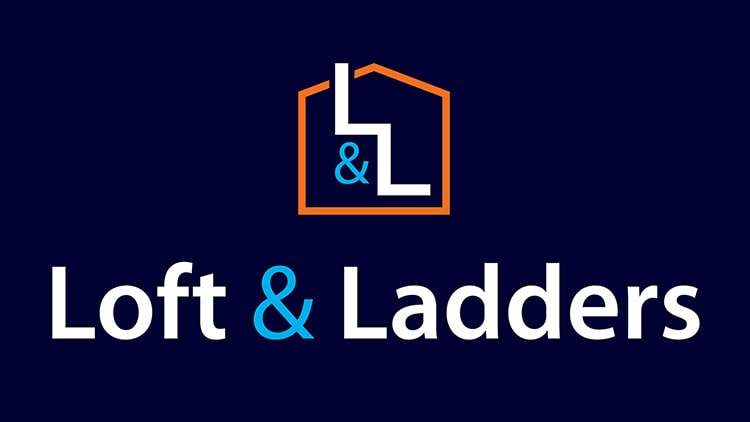 Lofts and Ladders branding design reversed
