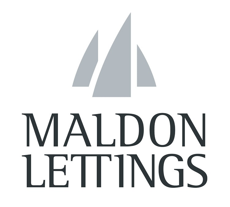 Maldon Lettings Branding Design Logo stacked