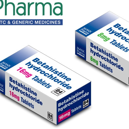 Manx Healthcare generic packs for medicine Packaging Design Thumbnail