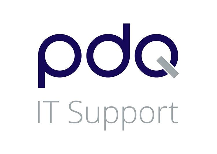PDQ portrait logo design