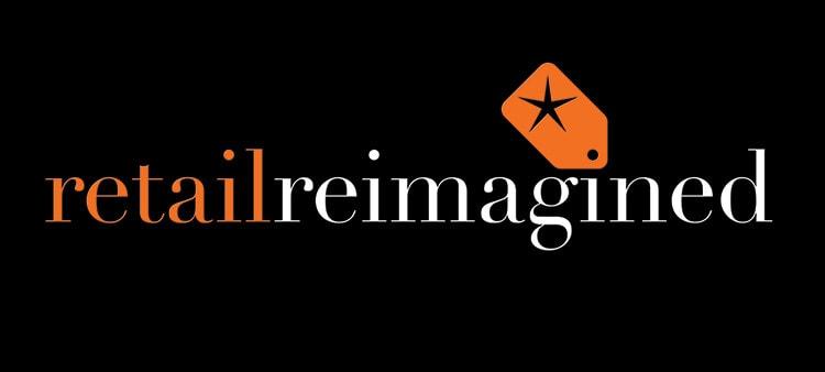 Retail Reimagined branding design 3D logo treatment