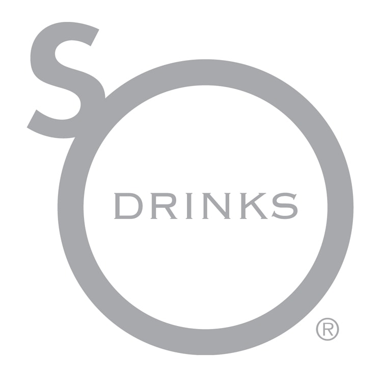 So Drinks logo design Registered trademark symbol