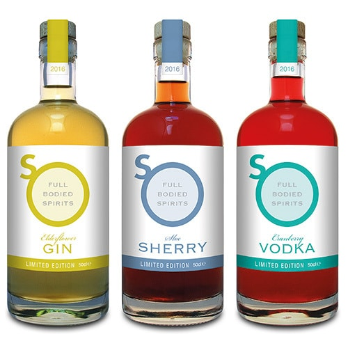 Drinks lineup with new So Drinks label design Thumbnail