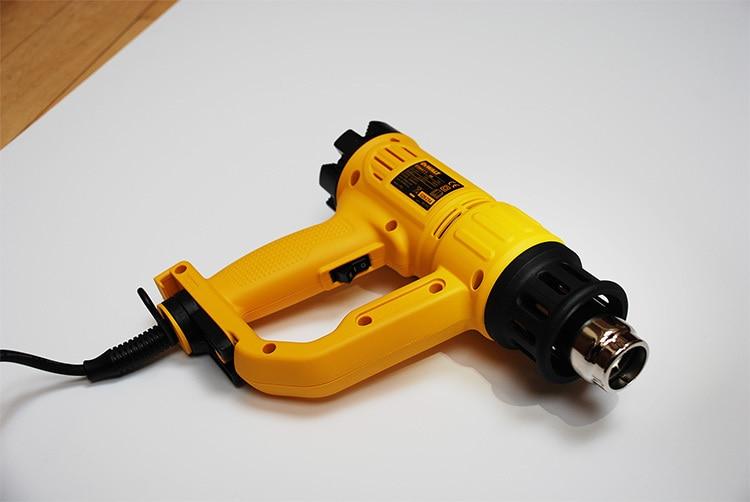 Original photography of heat gun hand tool for Tilgear