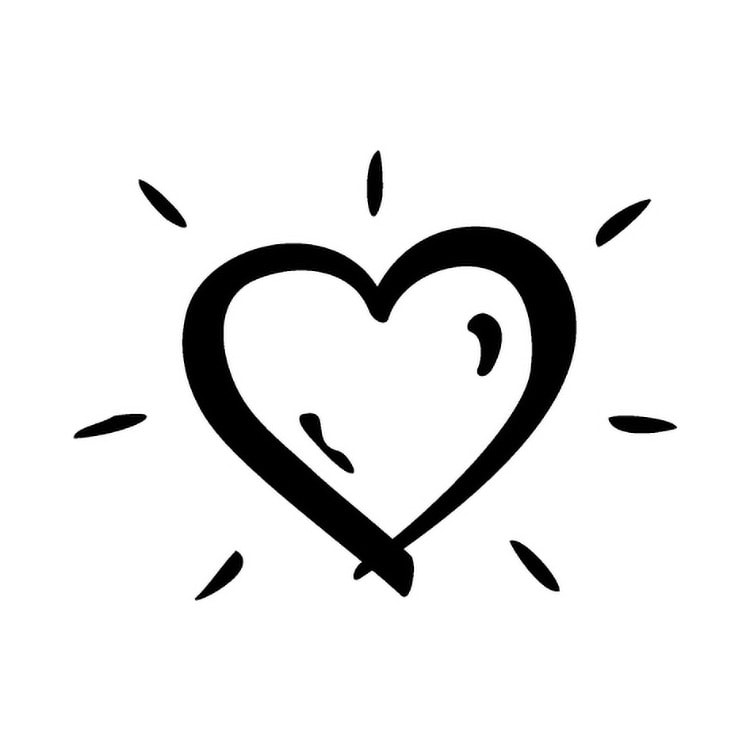Heart icon design for Vivid Health