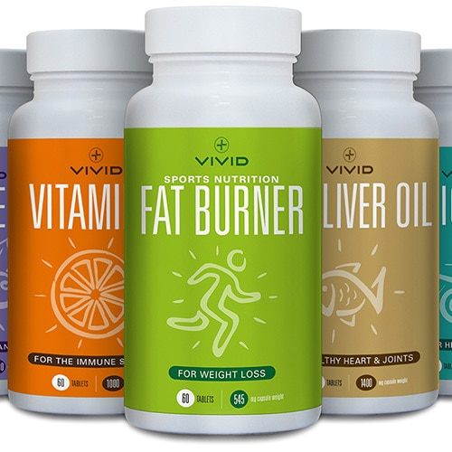 Vivid Health packaging design ranges Thumbnail