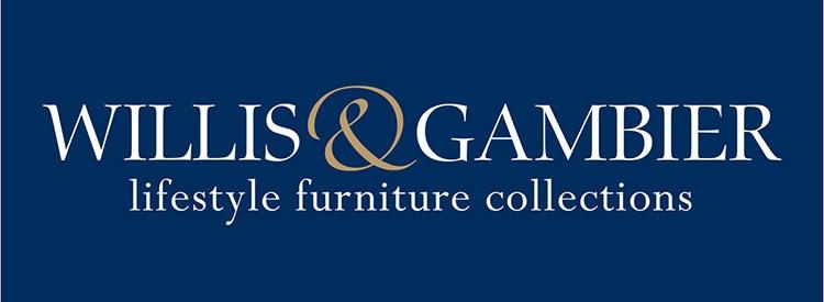 Reversed Branding design for Willis & Gambier with strapline