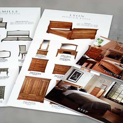 John Lewis Brochures print design for Willis & Gambier Thumbnail