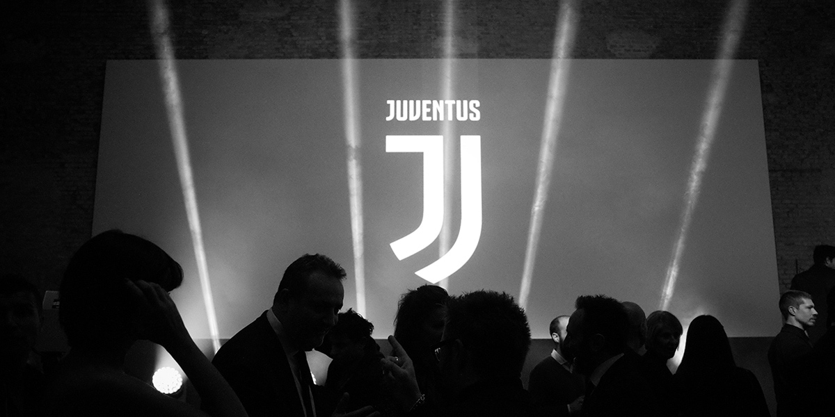 Reveal of the new Juventus branding design