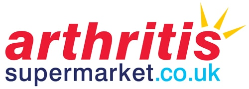 New logo design for The Arthritis Supermarket stacked version