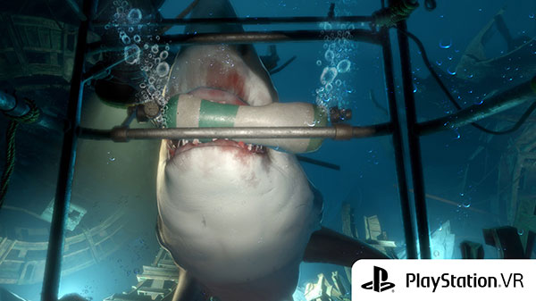 Playstation VR 'The deep'