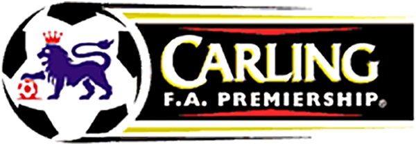 1996 - 2001 facelift design of FA Carling Premiership logo