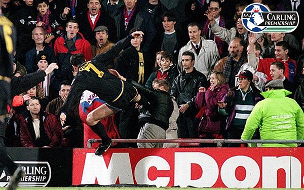 Eric Cantona kick fan