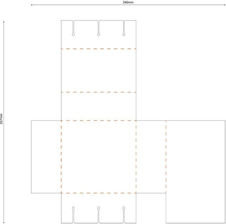 Transmitter inner packaging net design for GEO