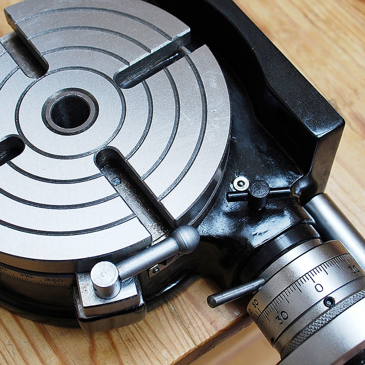 Retouched and enhanced photography of Rotary table tool for Tilgear