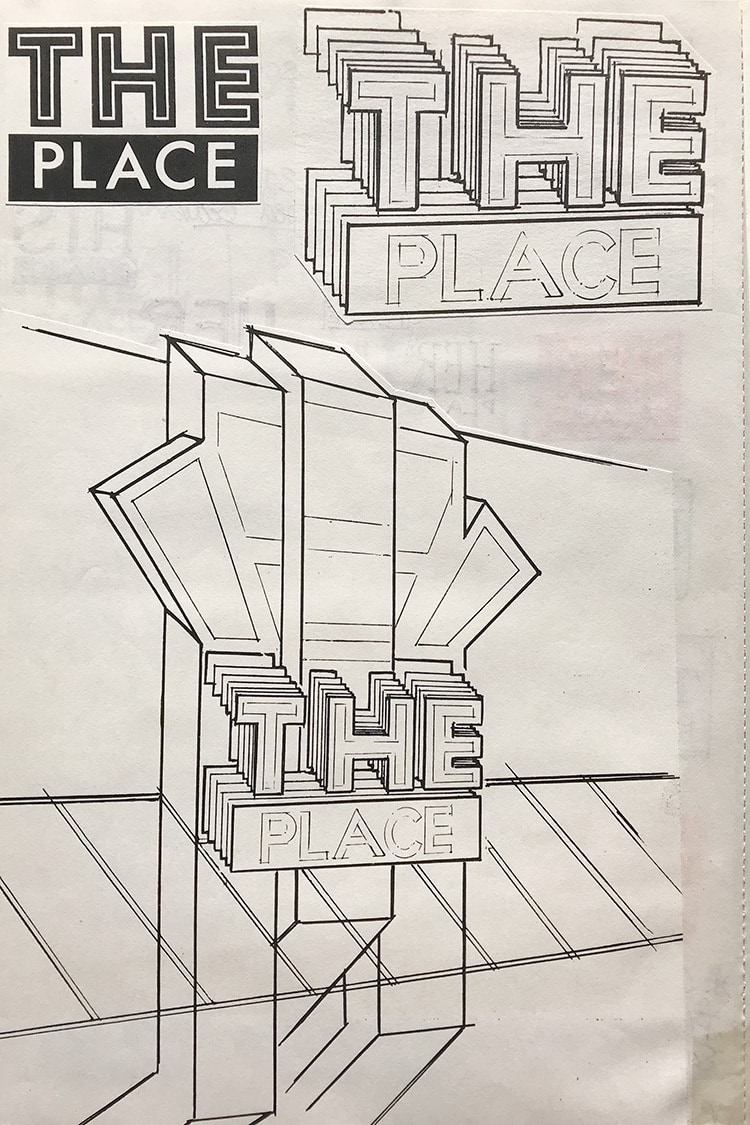 The Place shopfront development sketches