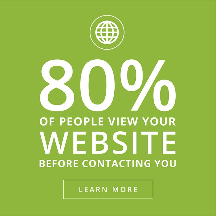 Right Angle Creative Website Design sales block fact