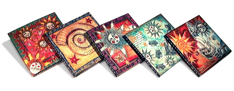 New Age Stationery Card Packaging - for Paper D'art