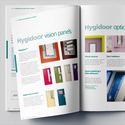 Hygienic compendium brochure print design for Trovex Innovations Thumbnail