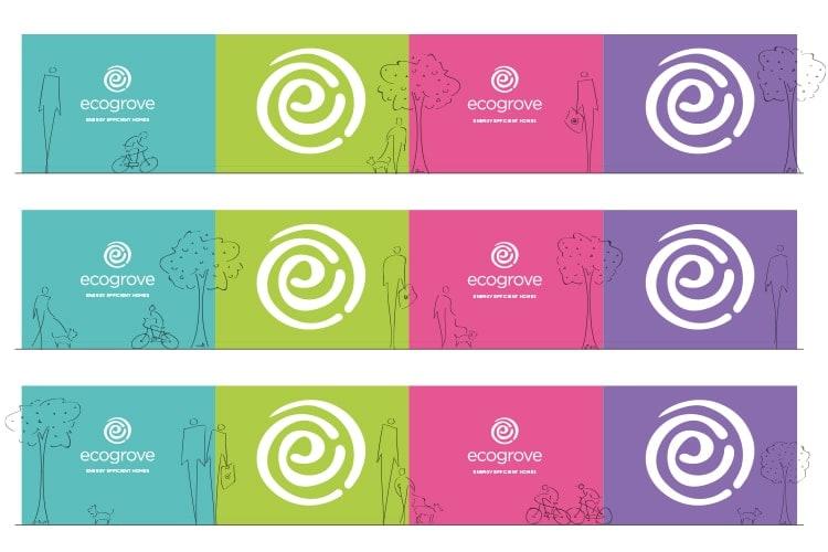 Ecogrove Hoardings design flats