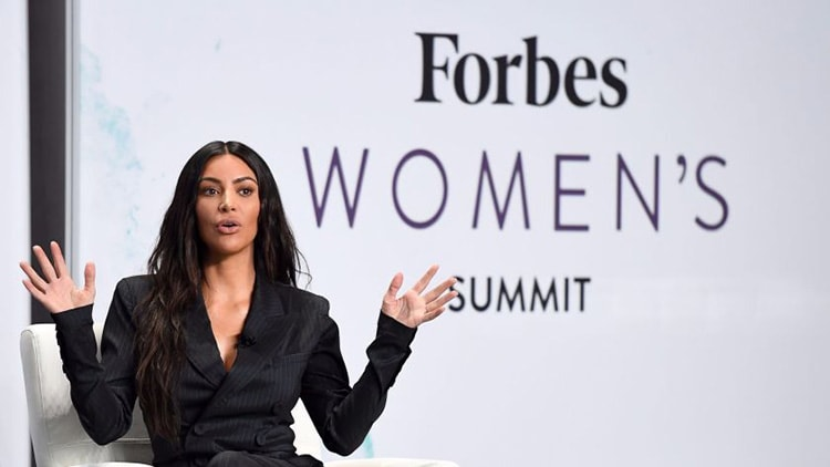 Kim Kardashian forbes interview