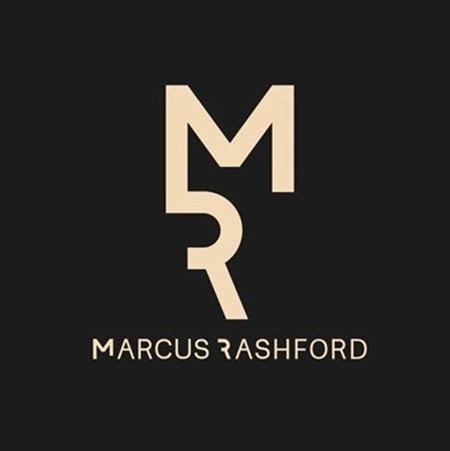 Marcus Rashford 'MR' branding design