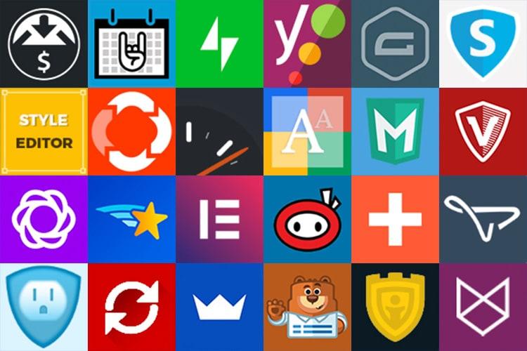 Wordpress Plugins Symbol logo designs